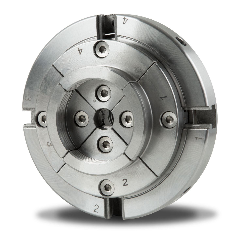 4 Morse autocentrante Mandrino Tornio 125mm